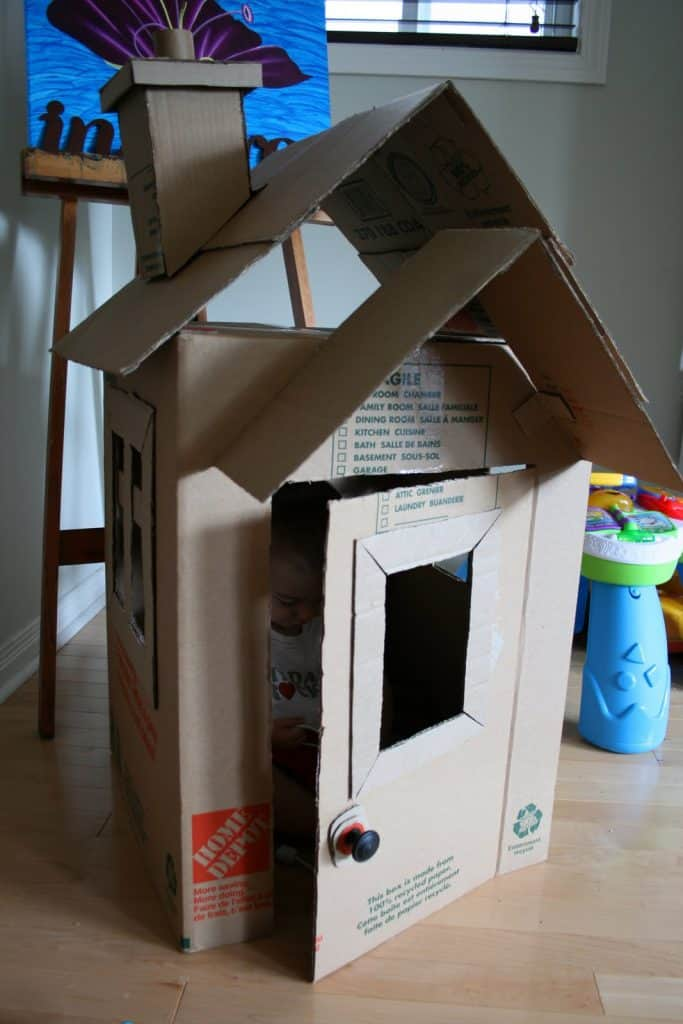 Kids Cardboard Playhouses