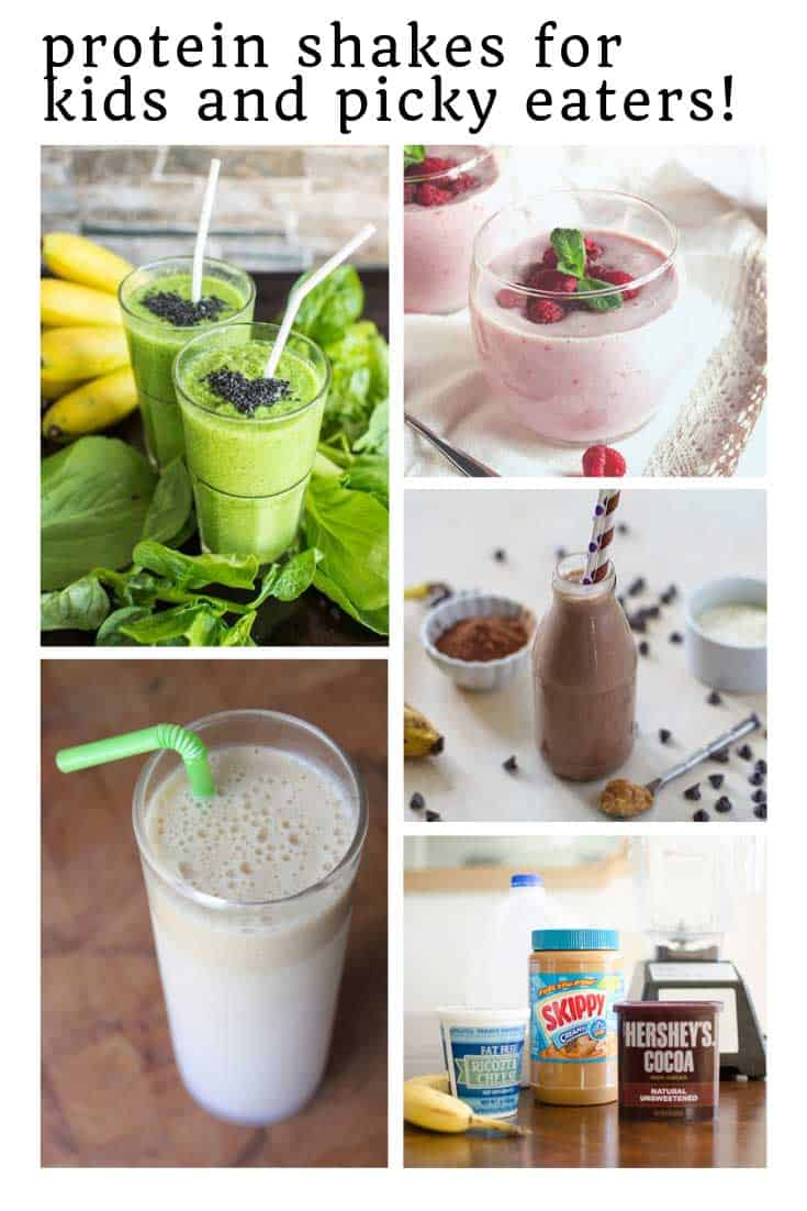 Yum protein shakes for picky eaters that are totally kid approved!