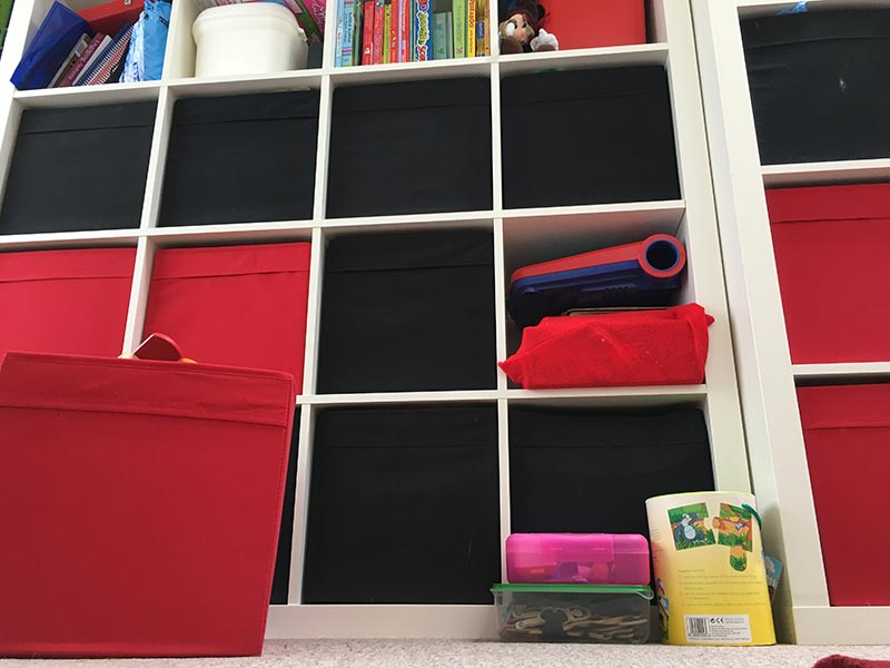 Kid's Toy Storage Units