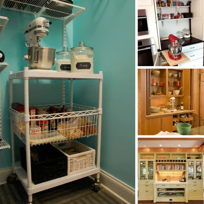 Drooling over these kitchen baking stations - I need one in my life!