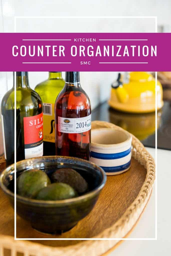 Kitchen Counter Organization Tips | Countertop Organization | Declutter