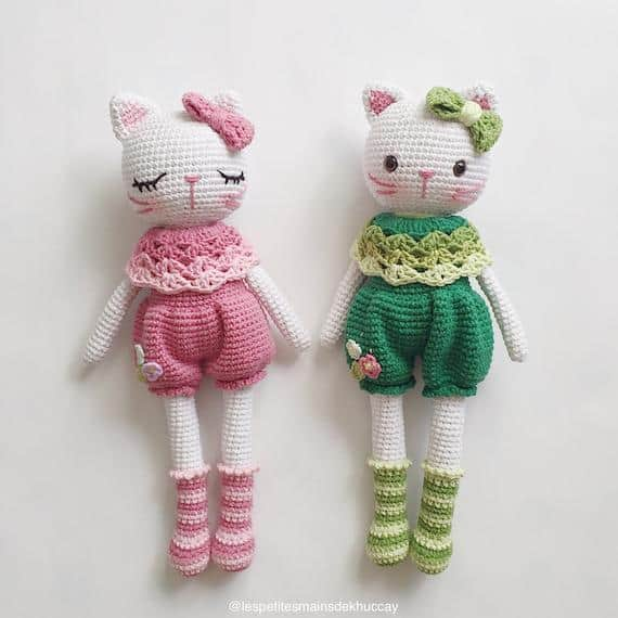 Stylish Kitten Miiu Crochet Pattern