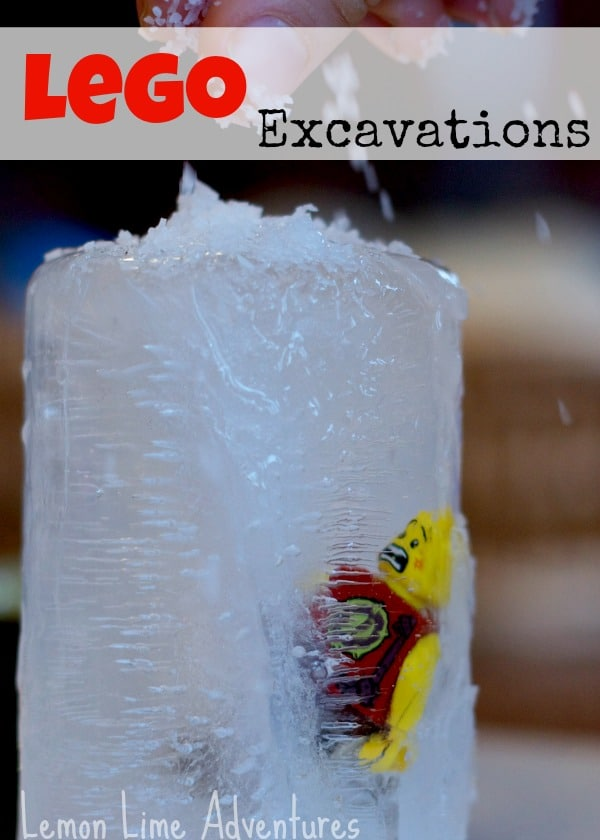 LEGO Science - An Ice Excavation Experiment