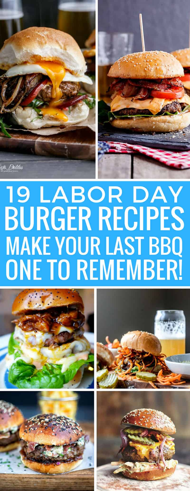 Wow! Hubby is going to have a blast making these Labor Day burger recipes. Can't wait to eat them! Thanks for sharing!