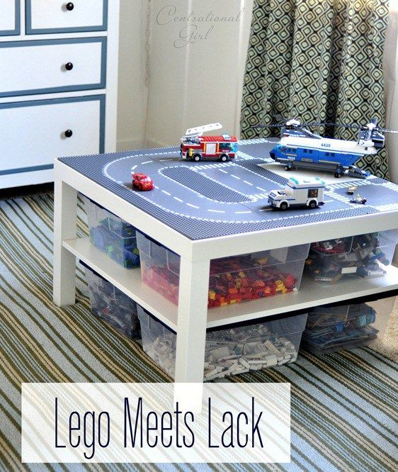 Lack Lego Table