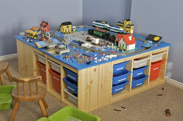 Large IKEA Lego Table with Storage