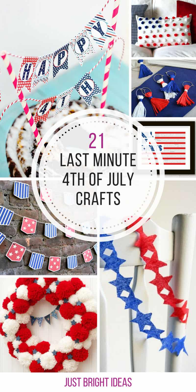 So many great crafts for the 4th of July!