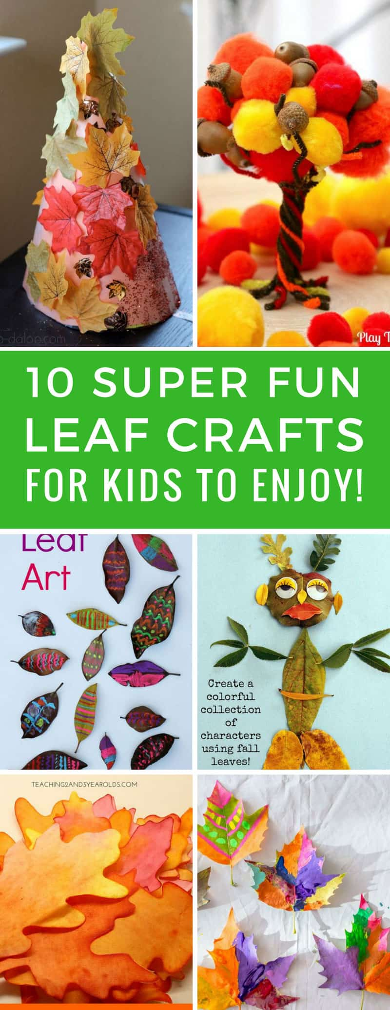 These leaf crafts for kids are so much fun and will be the perfect activities for Fall homeschool! Thanks for sharing!
