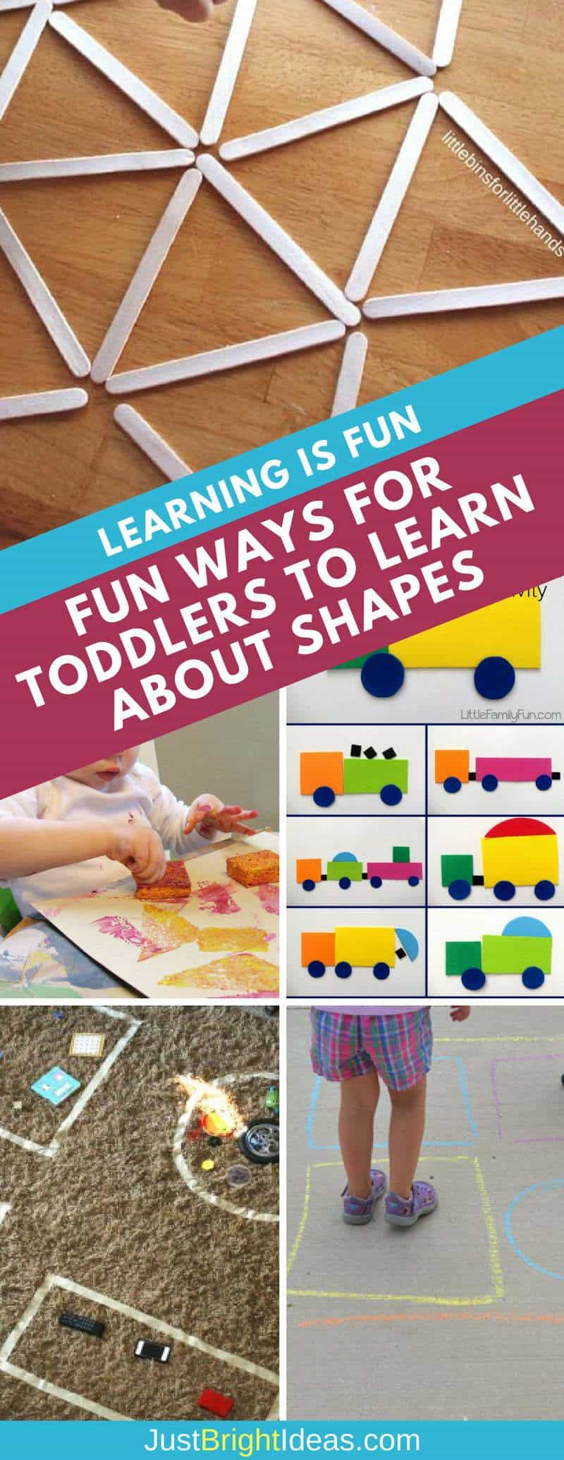Learn about shapes for toddlers