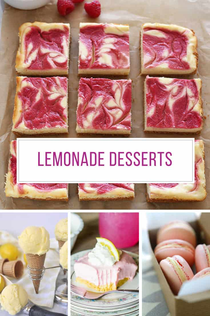 Loving these lemonade desserts! Thanks for sharing!