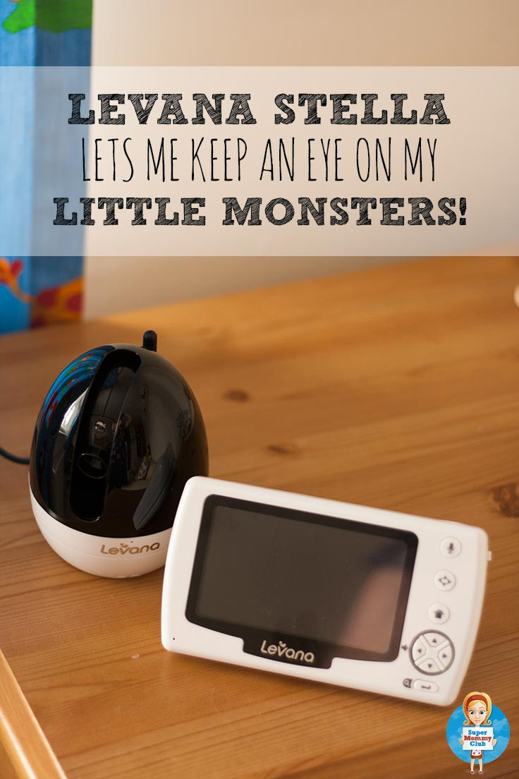 How I keep an eye on my little monsters with the Levana Stella video camera baby monitor