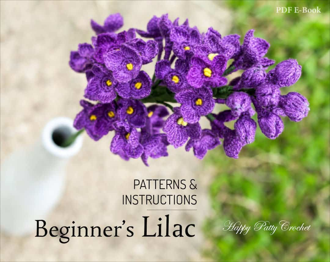 Beginner's Crochet Lilac Pattern