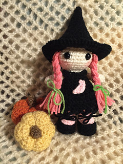 Little Witch Halloween Crochet