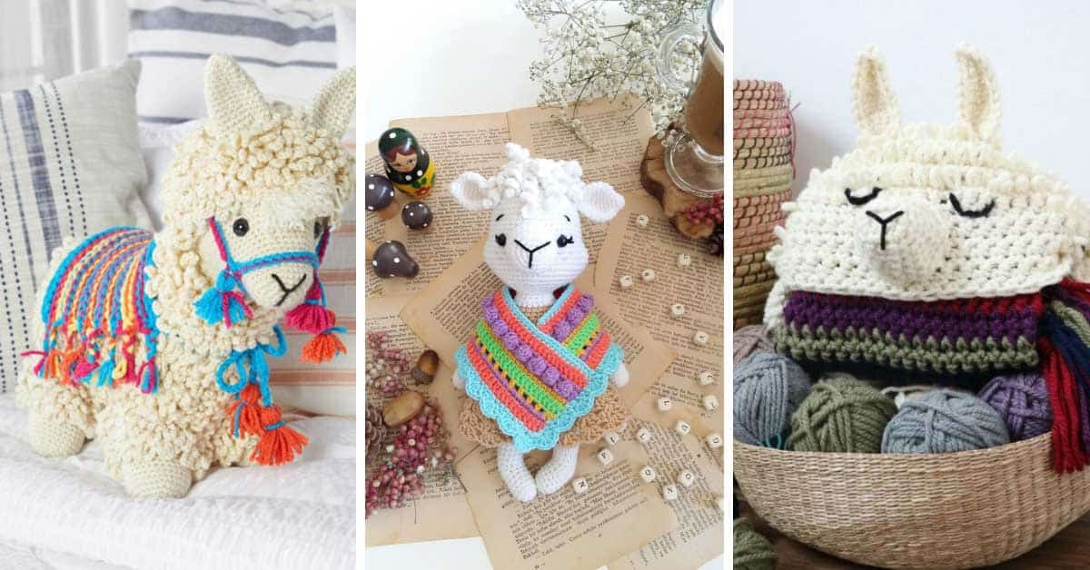 Llama Crochet Patterns That Don T Get Any Cuter Than This
