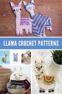 These llama crochet patterns are ADORABLE! You've gotta see them!