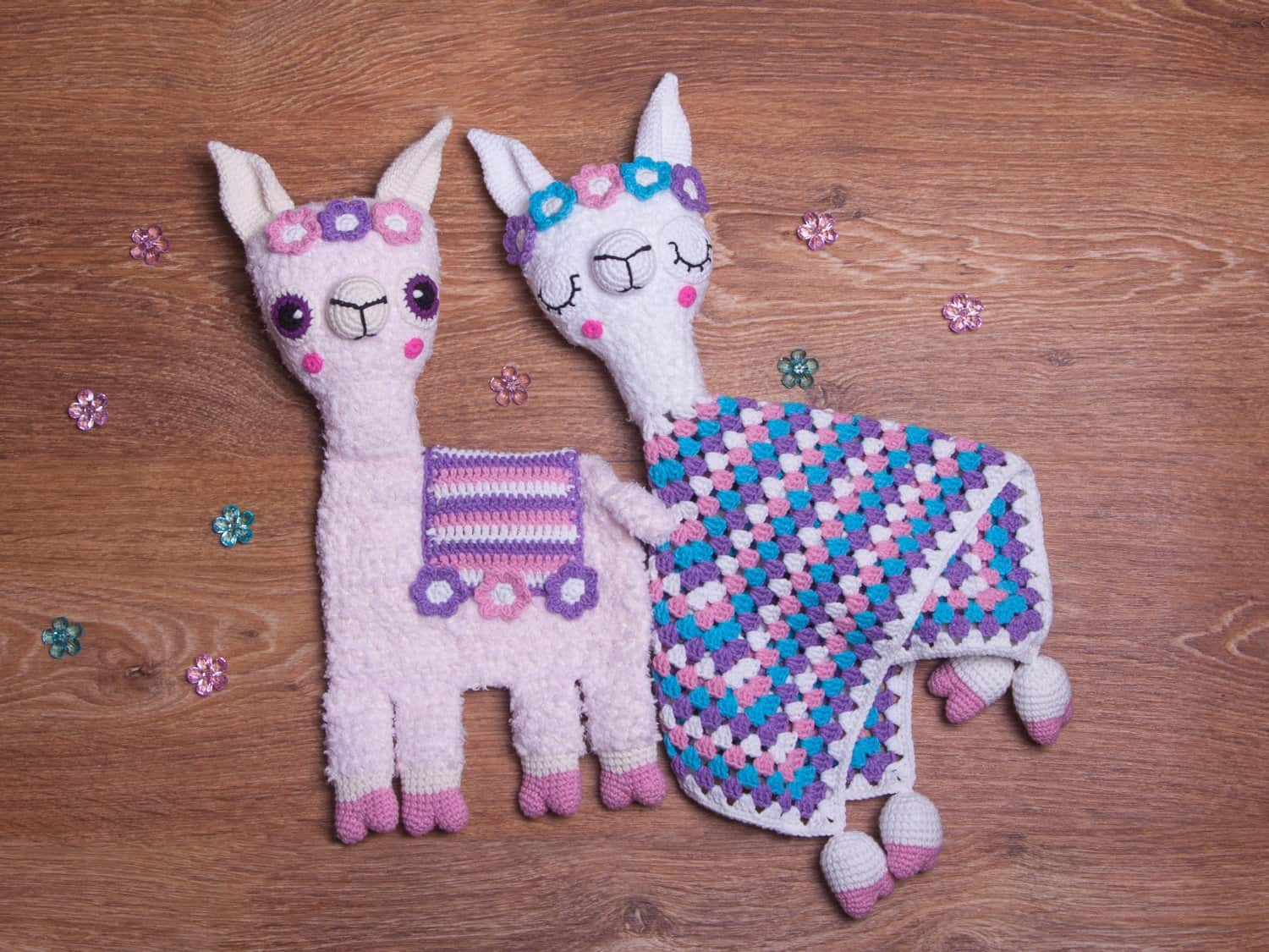 Llama Lovey and Ragdoll Crochet Patterns