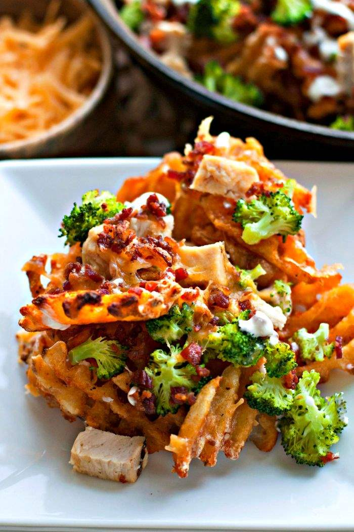 Loaded Broccoli Cheese Fries | Family Friendly | Dinner | Easy | Cooking with Kids