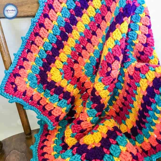 Building Blocks Baby Blanket - Free Crochet Pattern
