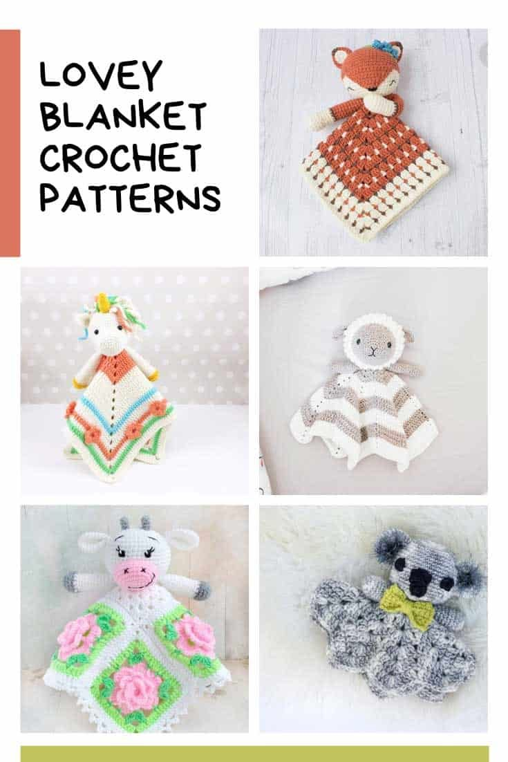 Lovey Crochet Patterns {Cute security blankets for your baby!}