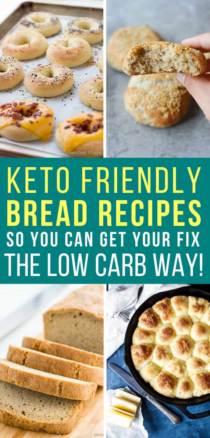 Low Carb Keto Bread Recipes - Pinterest