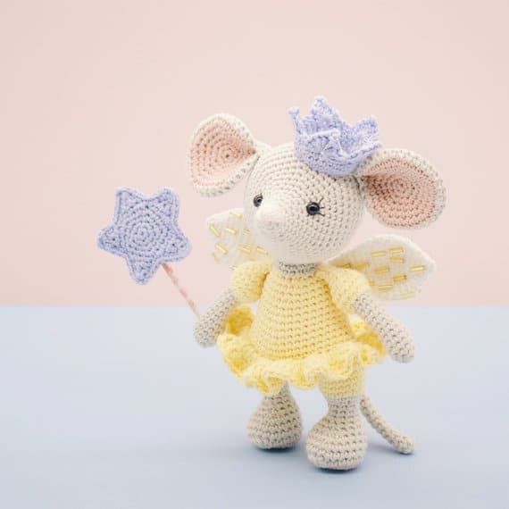 Amigurumi Fairy Princess Mouse