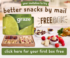 Healthy snacks delivered to your door!