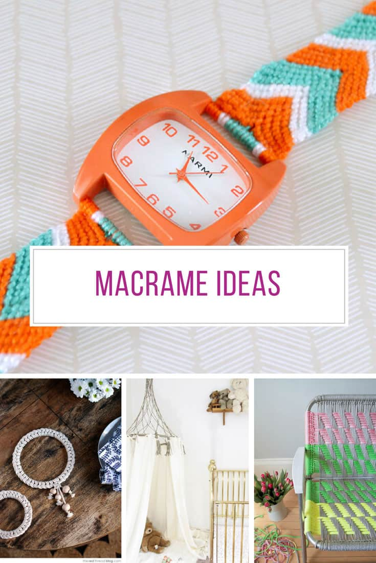 Loving these macrame ideas! Thanks for sharing!