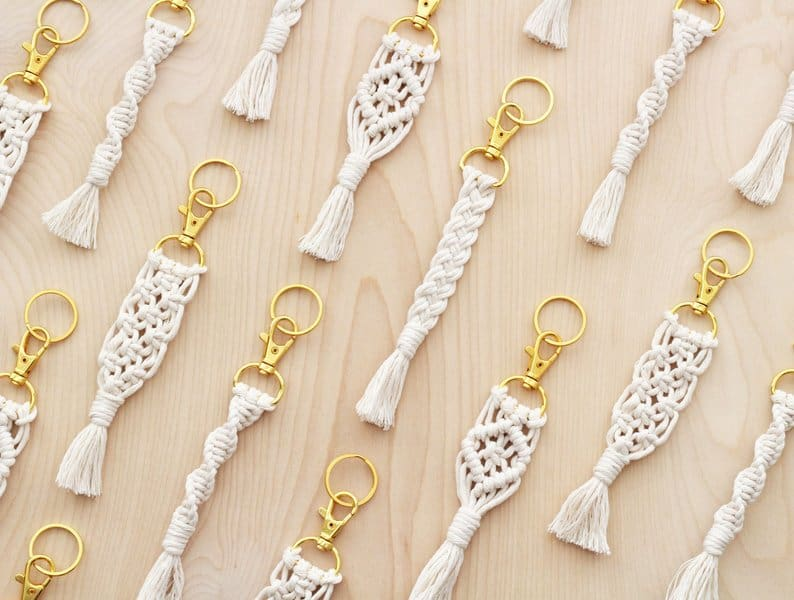 Macrame Keychain DIY Kit