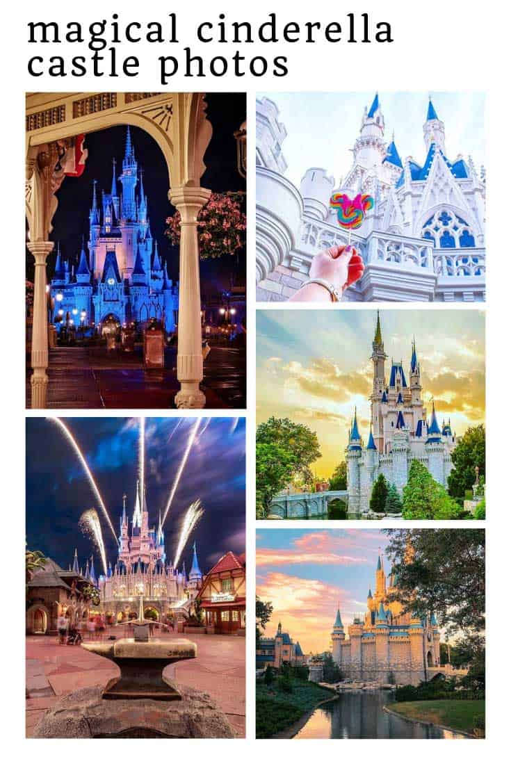 These photo spots are the best place to take a magical picture of Cinderella's Castle!