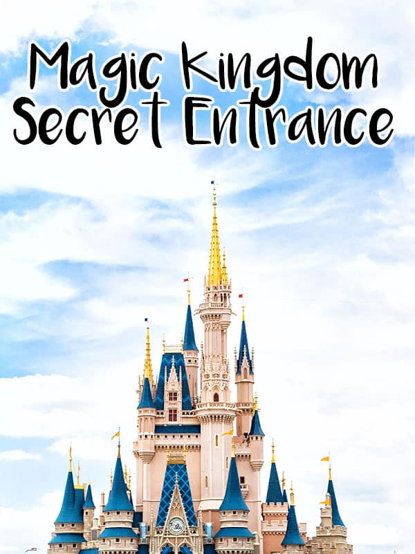 Beat the crowds by using this secret entrance to the Magic Kingdom that not many people know about!