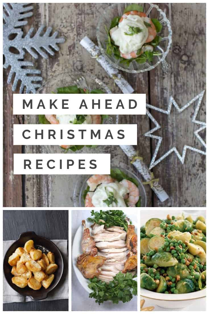 Make Ahead Christmas Dinner