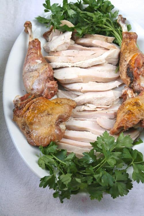 Make-Ahead Roast Turkey and Gravy