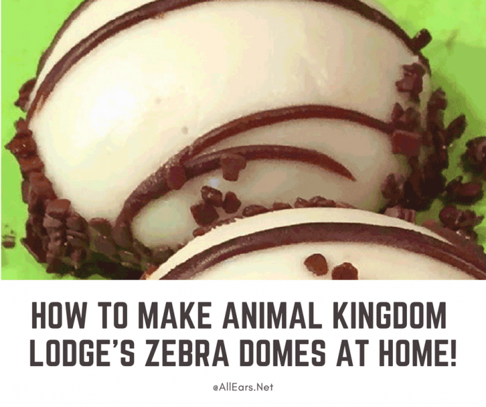 Recipe Zebra Coffee Domes - Boma