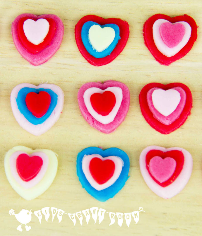 Oh how PRETTY are these little Valentine Sweets. EASY for kids to make and no baking required!