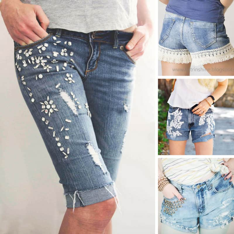 These cut off jeans look fabulous! Thanks for sharing!