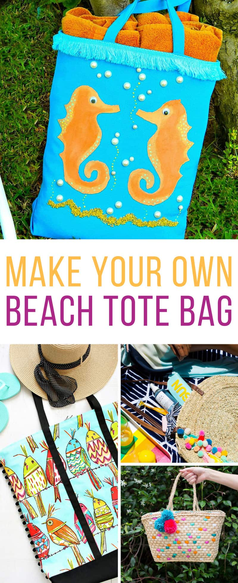35 Fabulous Diy Beach Tote Bag Ideas For The Summer