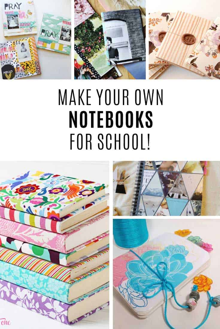 How to make your own notebooks!