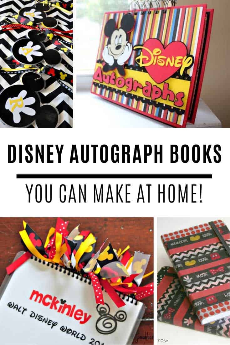 How to make your own Disney autograph book at home!
