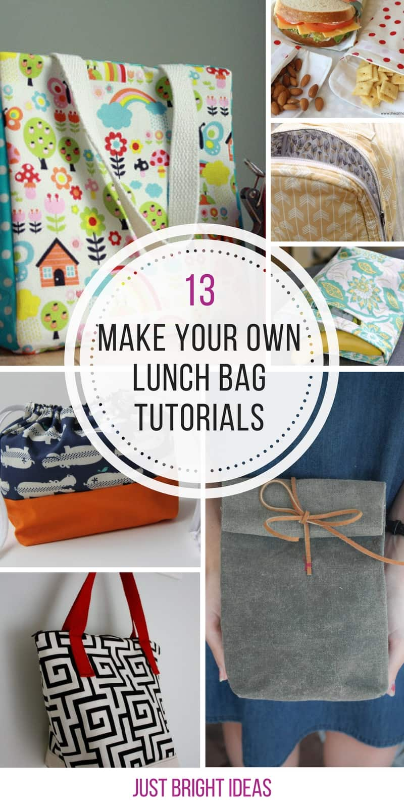 Loving these make your own lunch bag tutorials! Thanks for sharing!