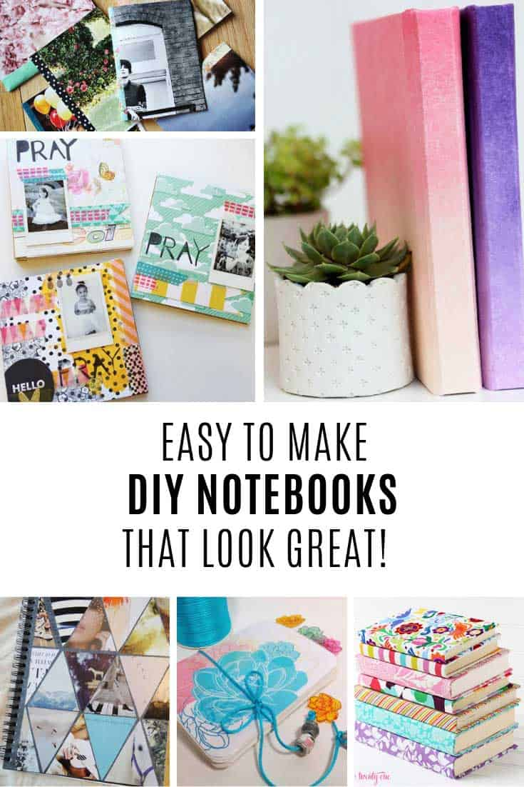 Make your own notebooks for school or the office!