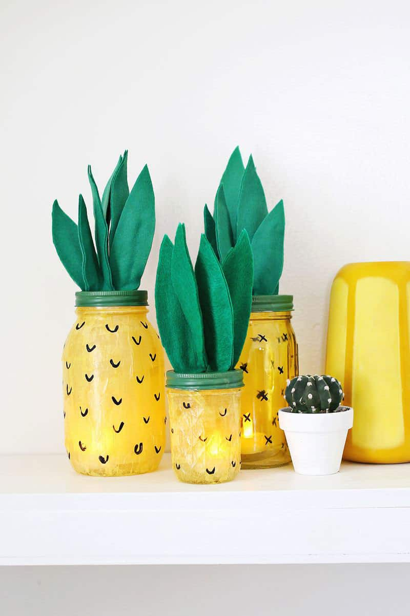 Make Your Own Pineapple Night Light