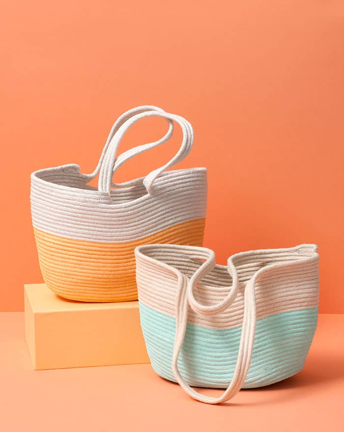 Make a Rope Tote Tutorial