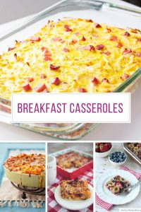 These make ahead breakfast casseroles are perfect for Holiday gatherings! Thanks for sharing!