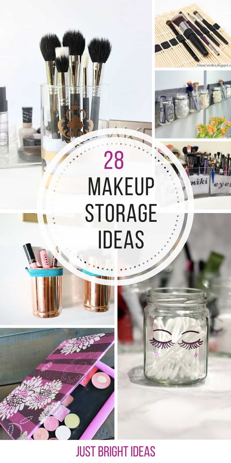 Loving these makeup storage ideas - so easy to make too - thanks for sharing!