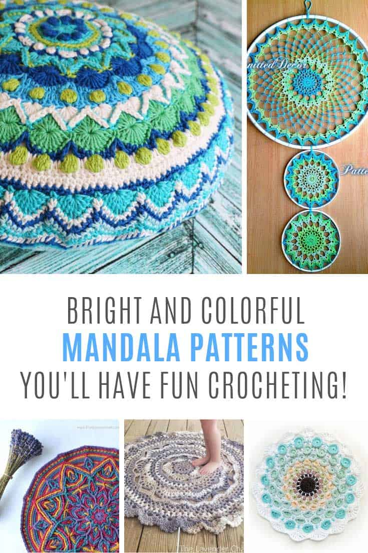 You need to add one of these mandala crochet projects to your list!
