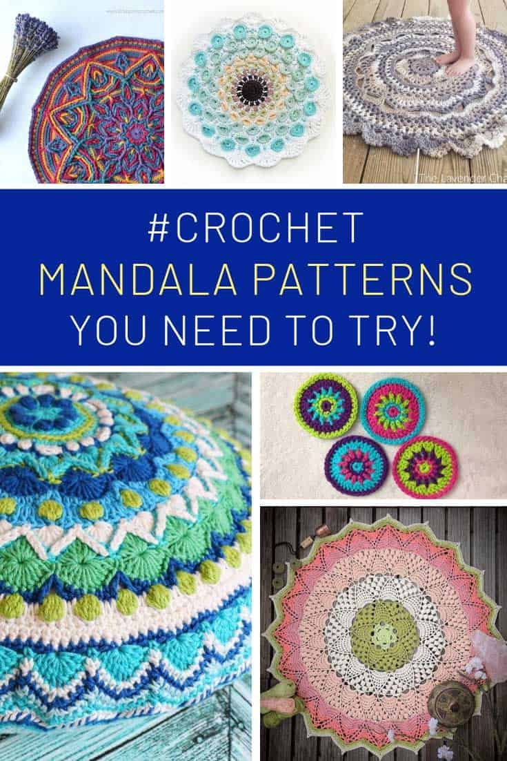 These mandala crochet ideas are GORGEOUS!