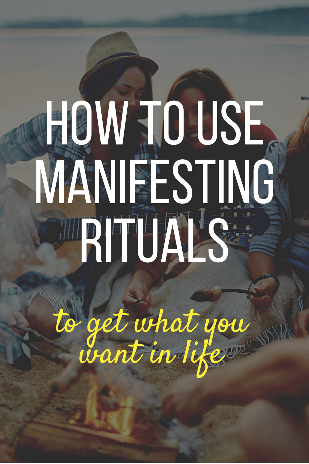 Find out how easy it is to create a manifesting ritual to help you get what you want out of life. Includes a free manifestation planner and worksheets to help you figure out which rituals are best for you.