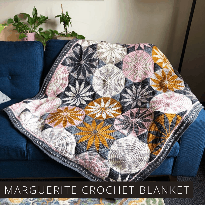 This gorgeous blanket will make a wonderful handmade gift and the crochet pattern is easy to follow