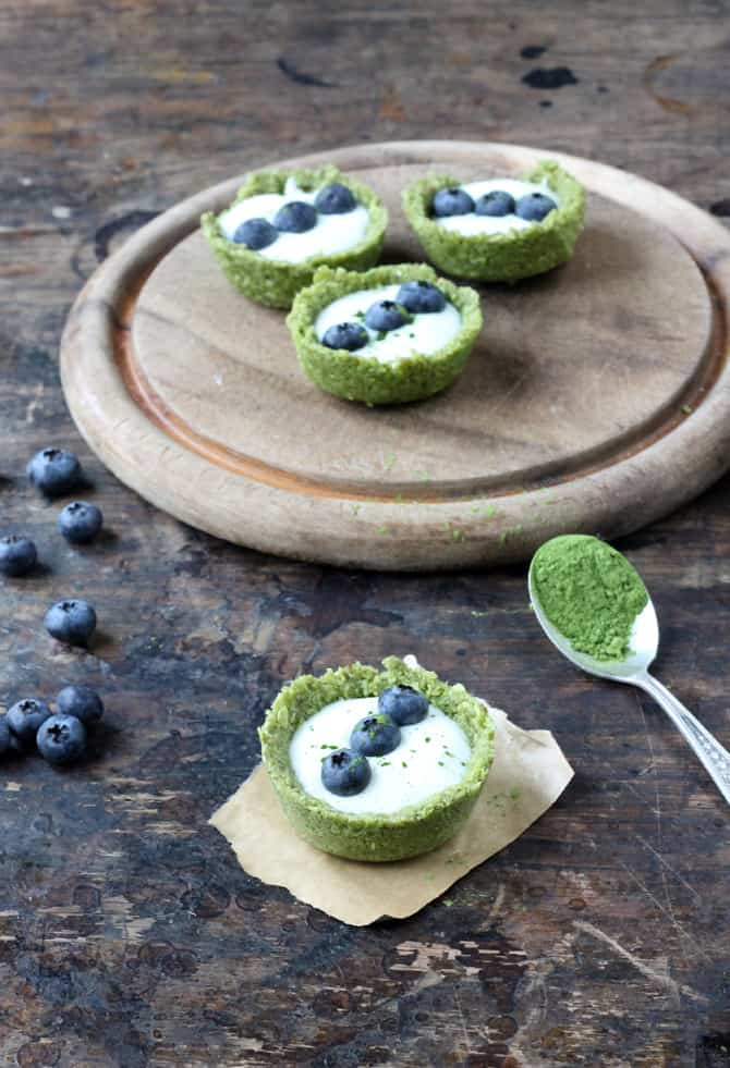Matcha Coconut Cups