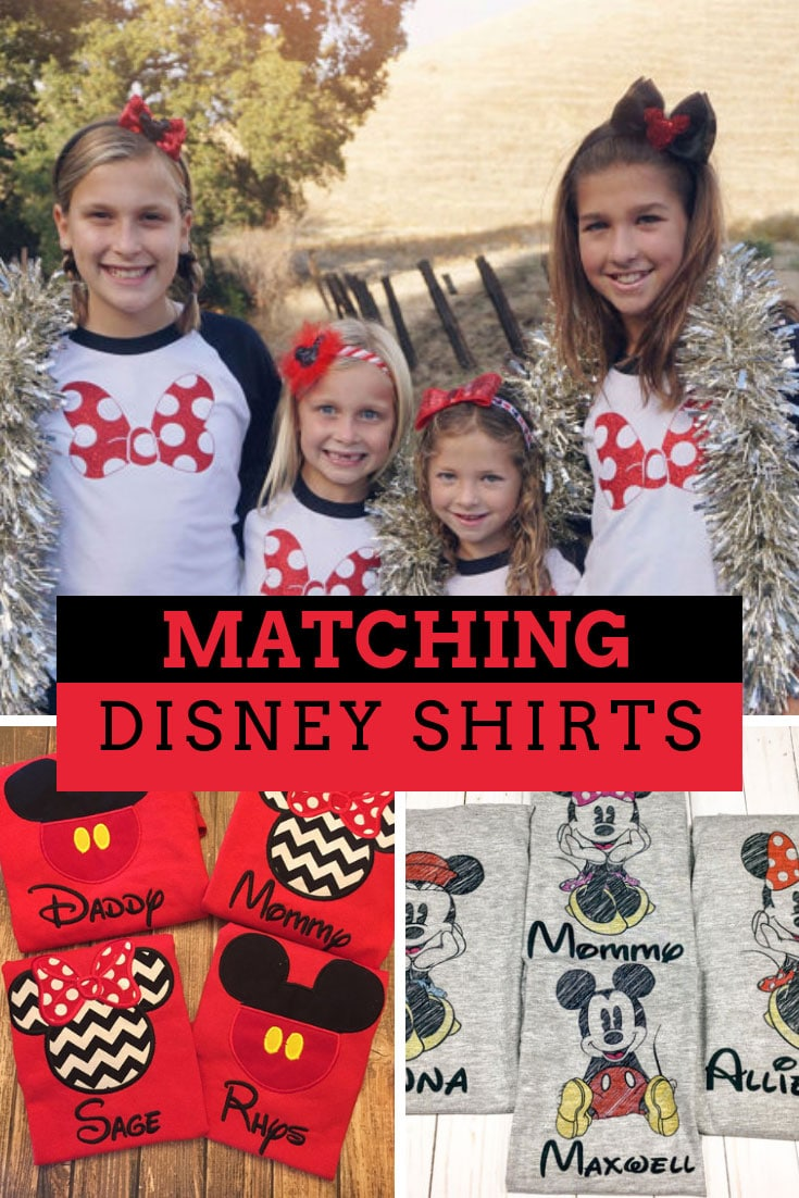 Family Disney Shirt Ideas  Adorable matching family Disney shirts ... 56e2f4e35